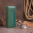 Гаманець на магнітах з клапаном жіночий ST Leather 19240 Зелений, фото 9