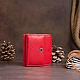 Маленький гаманець на кнопці жіночий ST Leather 19239 Червоний, фото 6