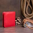 Маленький гаманець на кнопці жіночий ST Leather 19239 Червоний, фото 7