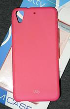 Чехол Utty для HTC Desire 626g розовый