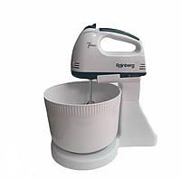 Міксер Rainberg RB-1005 ручний з пластикової чашею на стаціонарній підставці 500W SKL11-284252