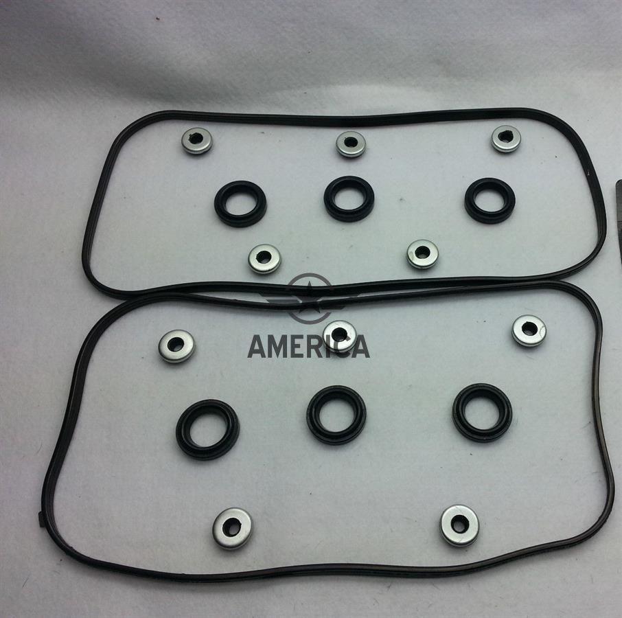 Прокладка клапанної кришки з кільцями свічкових каналів на 1 сторону до-кт HONDA 12030RYEA01 Acura mdx