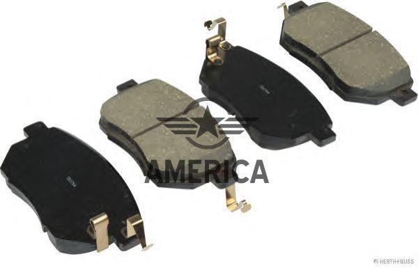 Колодки тормозные передние NISSAN 41060CG00J INFINITI FX45