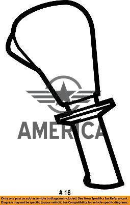 Ручка переключения передач CHRYSLER 52124523AA Jeep Commander