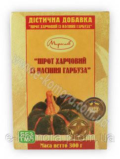 """Шрот тыквенный ТМ """"Мирослав"""" 300 грамм"""