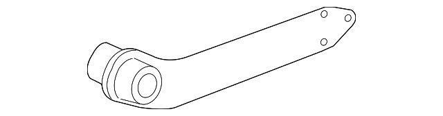 Важіль задньої підвіски GM 22678195