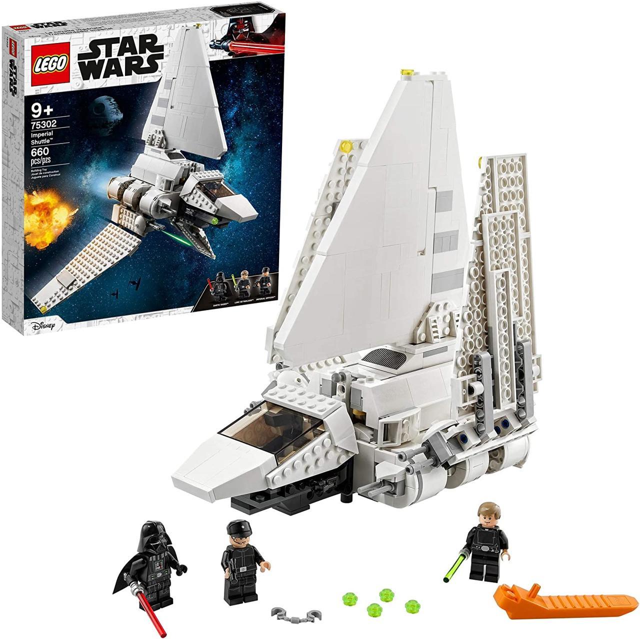 Лего Звездные войны  Имперский шаттл Lego Star Wars 75302