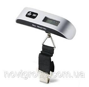 Кантер електронний Luggage Scale, LCD, Градація: 1 р, 1-50кг, живлення CR2032, корпус - пластик, для сумок/багажу, BOX