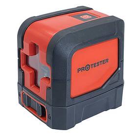 Лазерний рівень, 2 лінії, 1H/1V (червоний промінь) PROTESTER LL102R