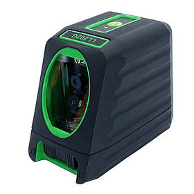 Лазерний рівень, 2 лінії, 1H/1V, 2 лазерних модуля (зелений промінь) PROTESTER LL202G