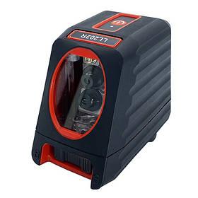 Лазерний рівень, 2 лінії, 1H/1V, 2 лазерних модуля (червоний промінь) PROTESTER LL202R