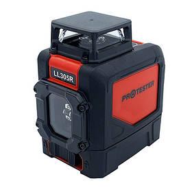Лазерний рівень, H360°/1V (червоний промінь) PROTESTER LL305R