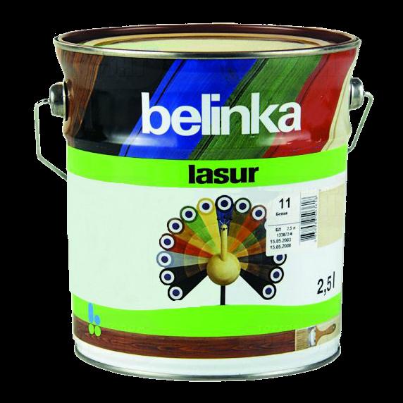 Belinka Lasur 10 л, Санториново-синя 72