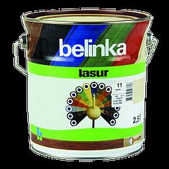 Belinka Lasur 2.5 л, Белая 11