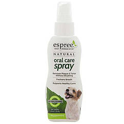 ESPREE (Эспри) Natural Oral Care Spray Peppermint - Спрей для ухода за зубами для собак с мятой