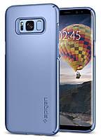 Чохол Spigen для Samsung S8 Plus Thin Fit, Blue Coral