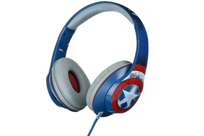 Картинка товара Наушники eKids/iHome MARVEL, Captain America, Mic (VI-M40CA.11XV7)
