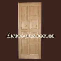 Двери межкомнатные из массива 80см f_0280