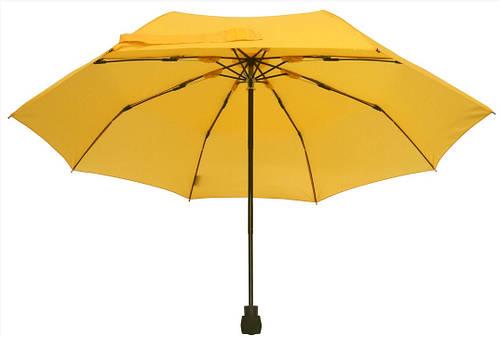 Яркий механический складной зонт EuroSCHIRM Light Trek 3029115U/SU17483 желтый