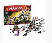 Конструктор Bela Ninja 10323 Титановый дракон  (Аналог Lego Ninja 70748) 359 дет
