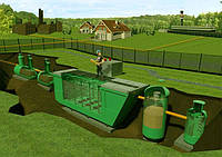 FloTenk-BioDrafts сооружения очистки бытовых сточных вод заглубленного типа