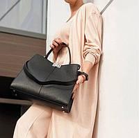 Стильна жіноча ділова сумка Італія Натуральна шкіра містка Велика жіноча шкіряна сумка df265fв, фото 1