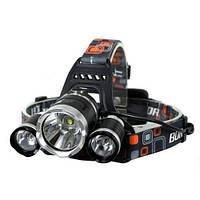 Налобный фонарь Bailong (Police) BL-3000 T6 (RJ-3000), 2x18650, 800lm