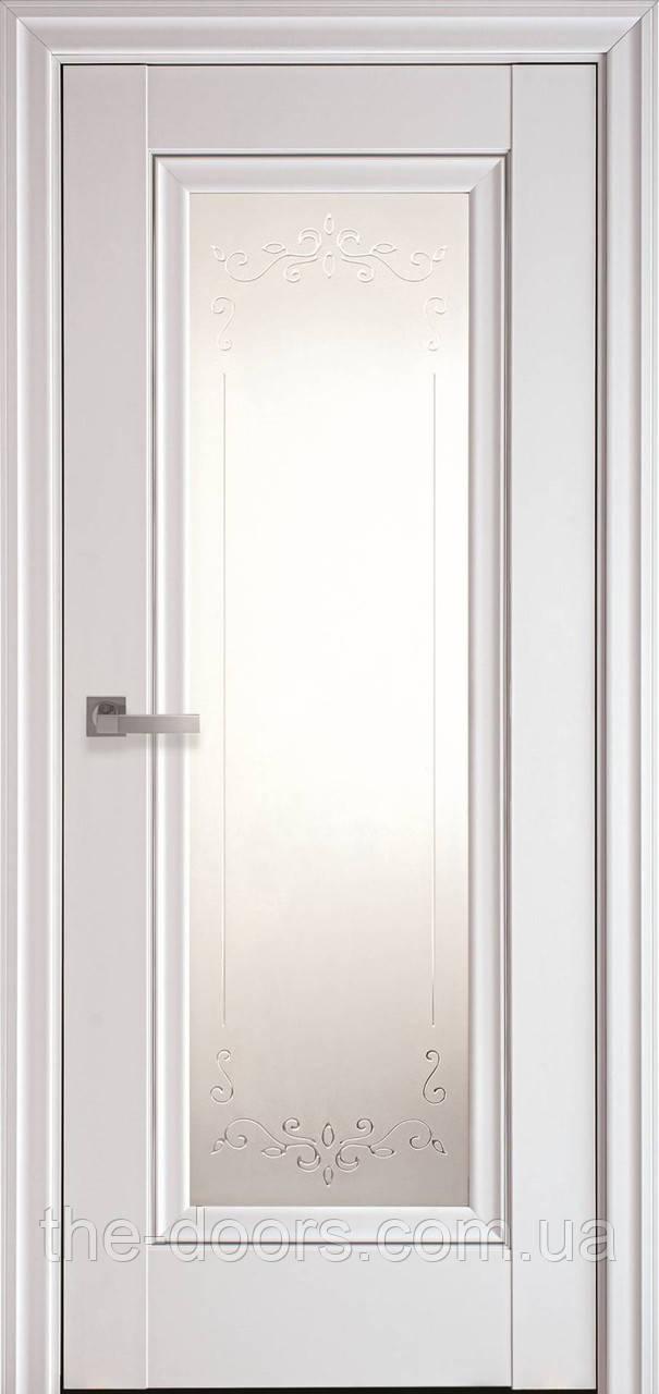 Двері Новий Стиль Престиж ПО Р2 з молдингом
