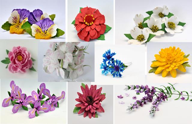 """Наборы """"сделай сам"""" / цветы из фоамирана"""