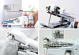 Ручная швейная машинка handy stitch Singer sewing machine миниАтюрная портативная компактная Швейка, фото 6