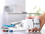 Ручная швейная машинка handy stitch Singer sewing machine миниАтюрная портативная компактная Швейка, фото 7
