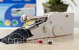 Ручная швейная машинка handy stitch Singer sewing machine миниАтюрная портативная компактная Швейка, фото 8