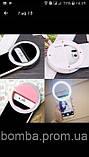 Світлодіодне кільце Лампа дляСелфи телефонаСмартфона підсвічування світло спалах кільцева ledSelfie Ring Ligh фото, фото 5