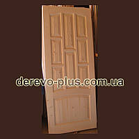 Двери межкомнатные из массива 80см f_1380