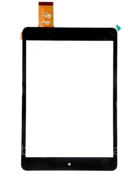 """Оригинальный Сенсор (Тачскрин) для планшета 7.85"""" MT70821-V3 A-6346A (197*132 мм,40 pin) (Черный-Самоклейка)"""