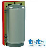 Теплоаккумулятор отопления  1500 л W вертикальный с изоляцией