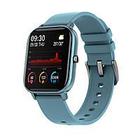 Наручные смарт часы Smart Watch P8 ГОЛУБЫЕ