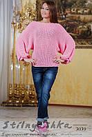 Женская свитер Летучка розовый