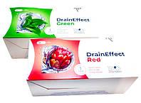 Комплект DrainEffect NL зеленый и красный драйн эффект для похудения очистка чай дрейнэффект от отека похмелья
