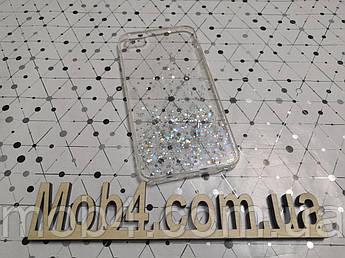 Силиконовый чехол накладка Звездная пыль для Apple iPhone 6 Plus