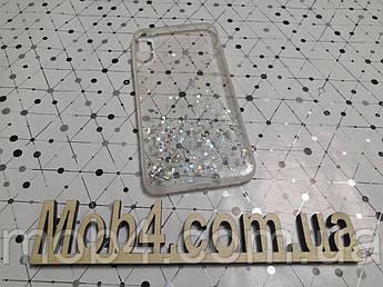 Силіконовий чохол накладка Зоряний пил для Apple iPhone XS