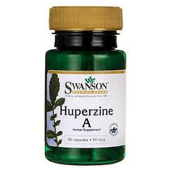 Swanson Huperzine A 50 mcg, Гуперзин А (60 капс.)
