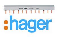 Шина гребінчаста 3P на 12 модулів, Hager, KB363A