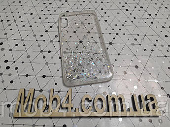 Силиконовый чехол накладка Звездная пыль для Apple iPhone XR