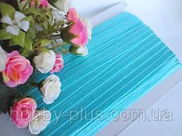 Бейка-резинка для повязок, голубой, 15 мм