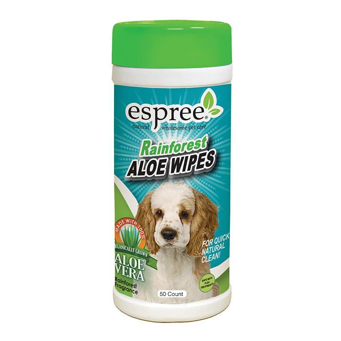 ESPREE Rainforest Wipes Насыщенные ароматом, салфетки 50шт