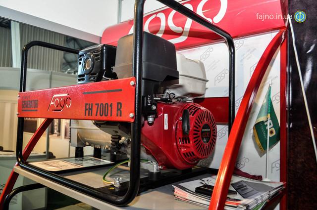 Бензиновый генератор Fogo FH 7001 E