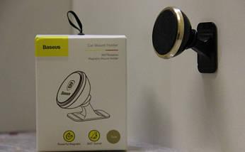Автомобільний магнітний тримач для телефону Baseus (оригінал), фото 3