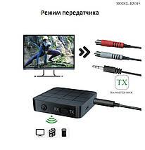 Bluetooth-адаптер 5.0, Vikefon, стерео у дві сторони(KN319), фото 3