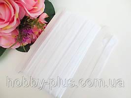 Бейка-резинка для повязок, цвет БЕЛЫЙ, 15 мм